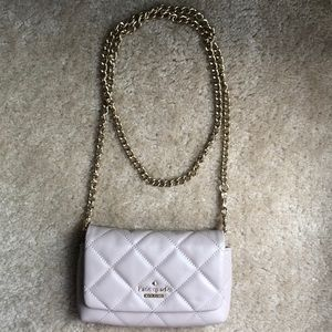 Kate spade envelope chain quilted crossbody